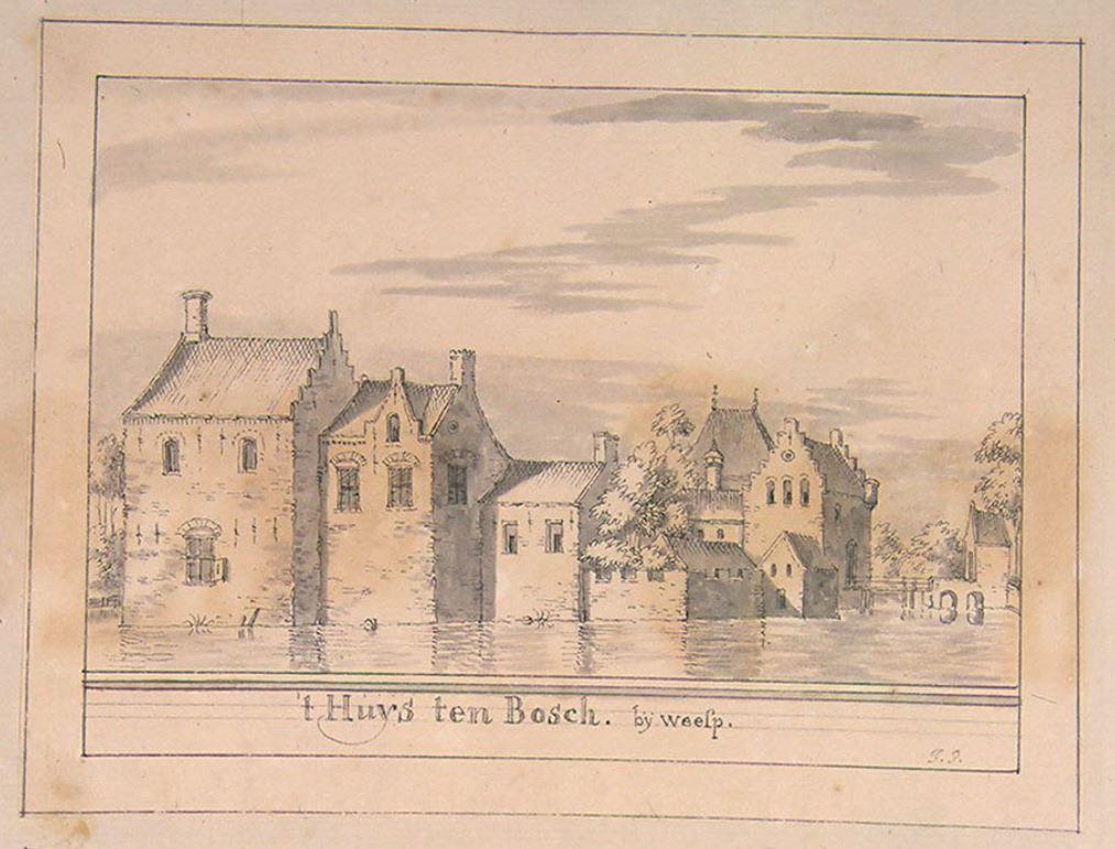 Deel 2: zoeken naar het Weesper kasteel