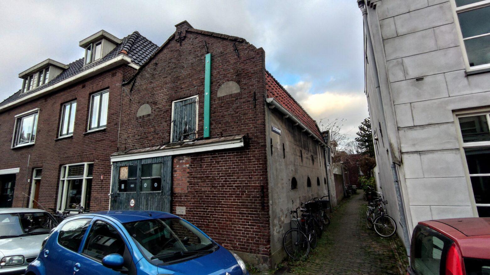 Prachtig verval aan de Nieuwstraat